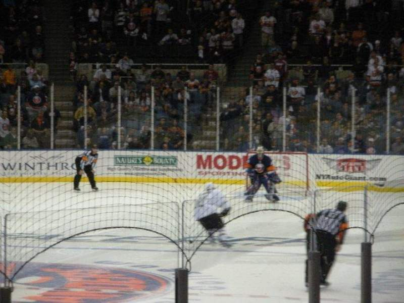 Seating view for Nassau Veterans Memorial Coliseum Section 107 Row J Seat 2