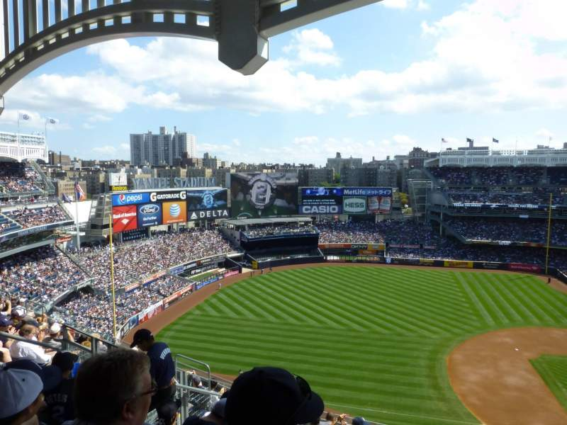 Seating view for Yankee Stadium Section 426 Row 10 Seat 10