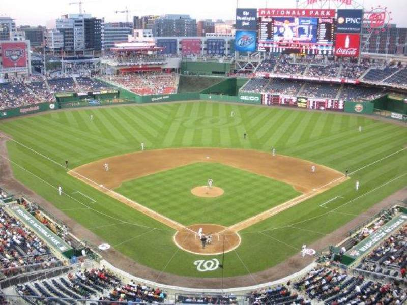 Seating view for Nationals Park Section 314 Row A Seat 10