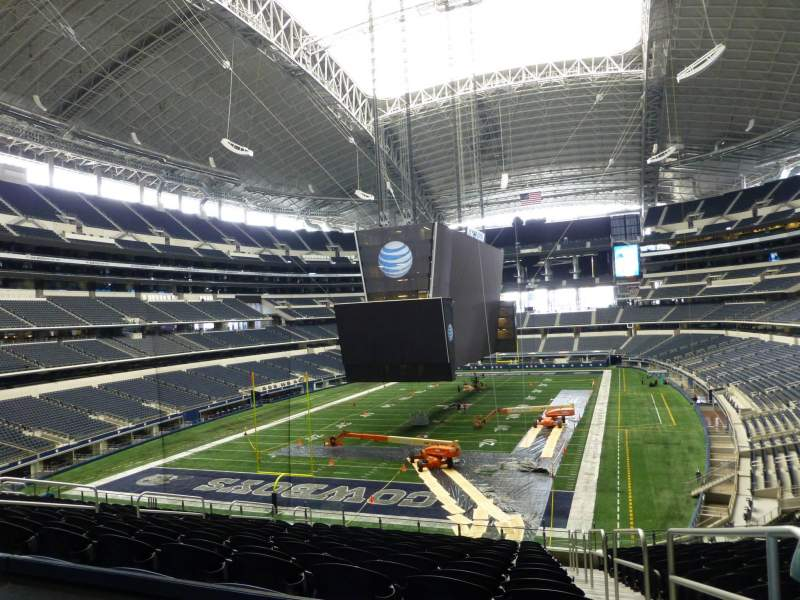 Seating view for AT&T Stadium Section 245