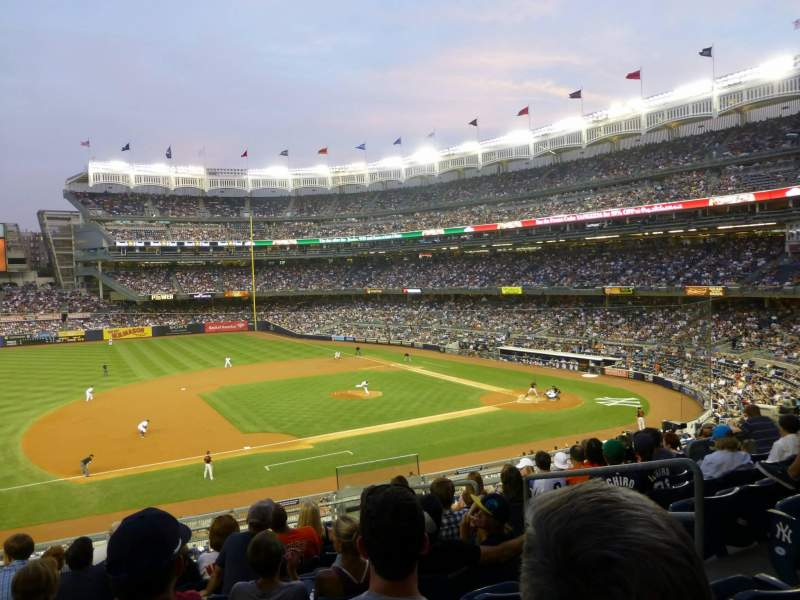 Seating view for Yankee Stadium Section 226