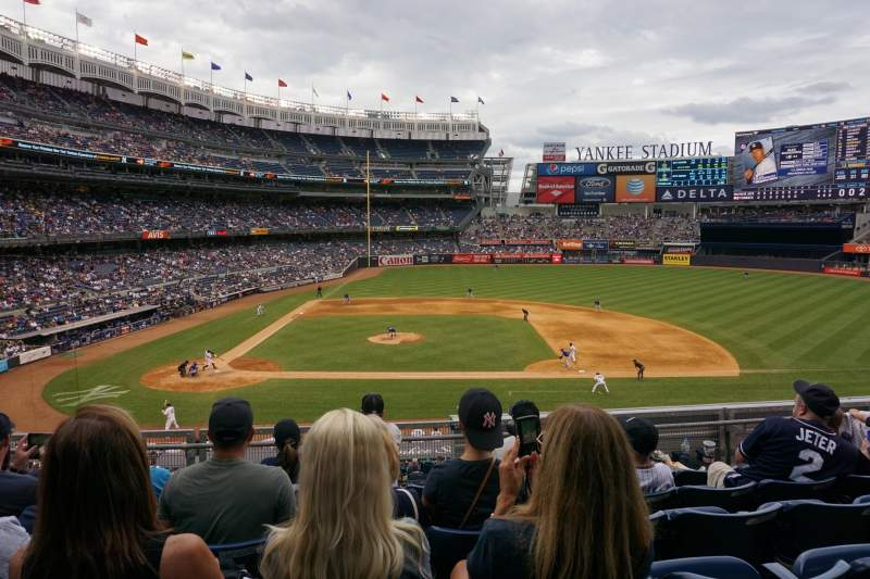 Seating view for Yankee Stadium Section 216 Row 6 Seat 14