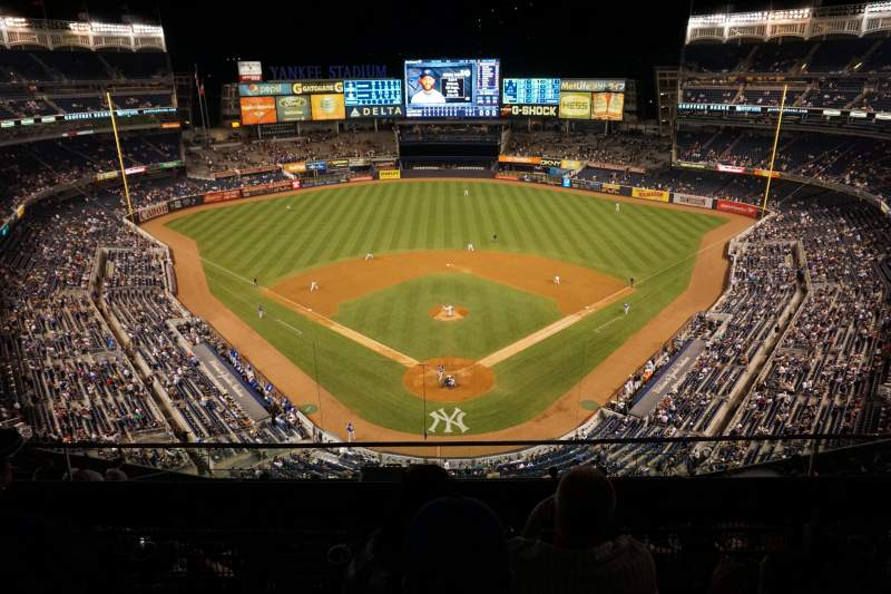 Seating view for Yankee Stadium Section 420B Row 3 Seat 13