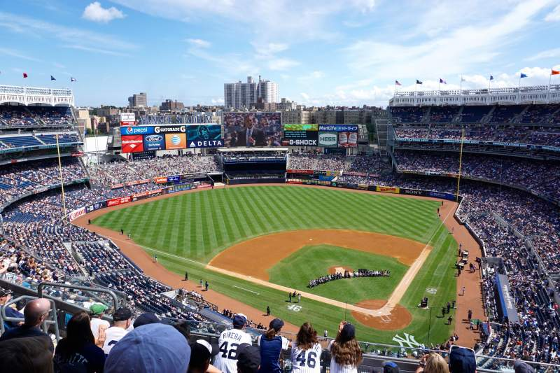 Seating view for Yankee Stadium Section 421 Row 6 Seat 14