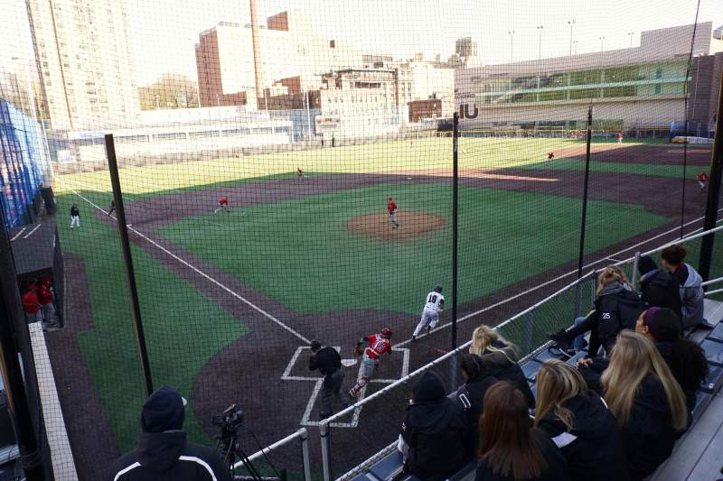 Seating view for Long Island University Field