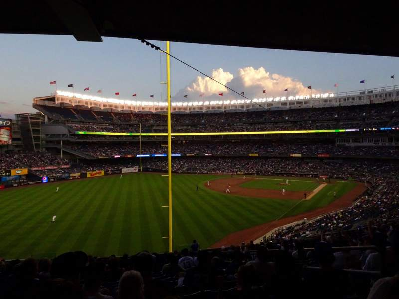 Seating view for Yankee Stadium Section 232B Row 19 Seat 6