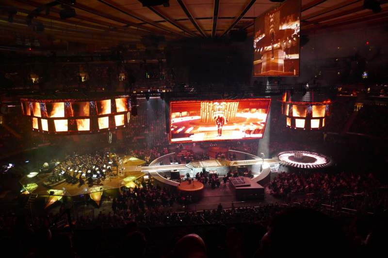 Seating view for Madison Square Garden Section 223 Row 8 Seat 13
