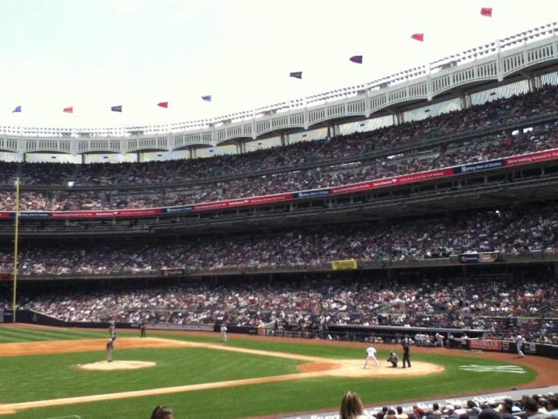 Seating view for Yankee Stadium Section 25 Row 13 Seat 5