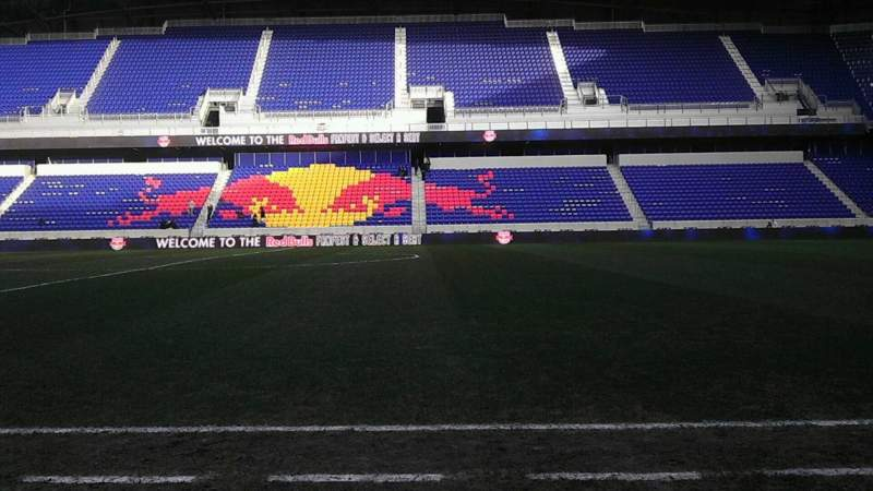 Seating view for Red Bull Arena Section 110