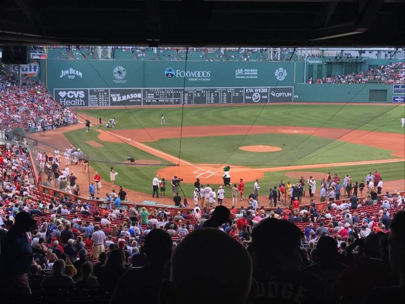 Fenway Park, section: Home Plate SRO, row: None, seat: None