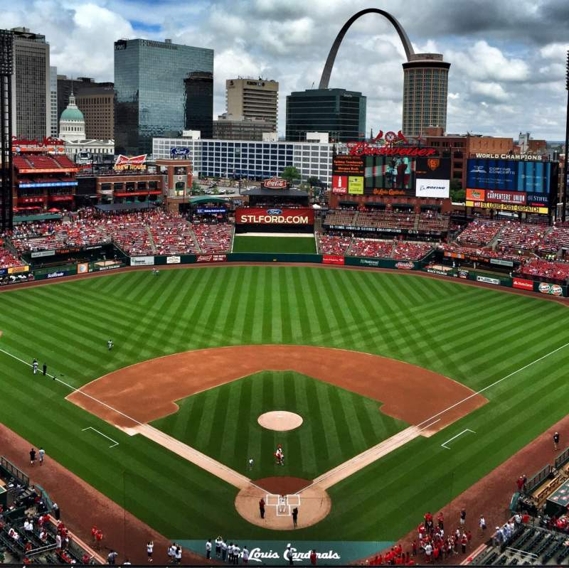 Seating view for Busch Stadium Section 450 Row 9 Seat 15