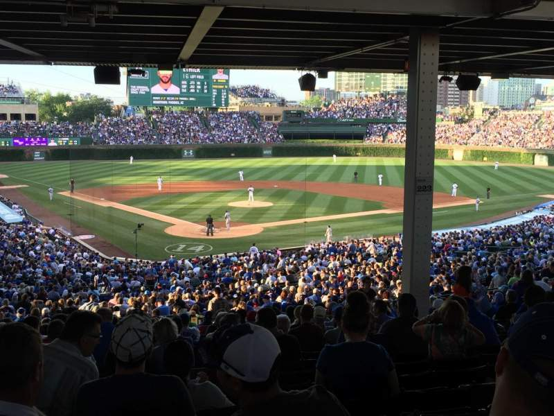 Seating view for Wrigley Field Section 223 Row 19 Seat 113