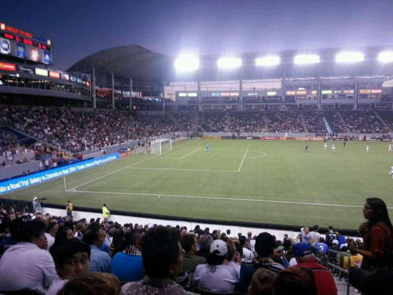 Seating view for StubHub Center Section 135 Row u Seat 2