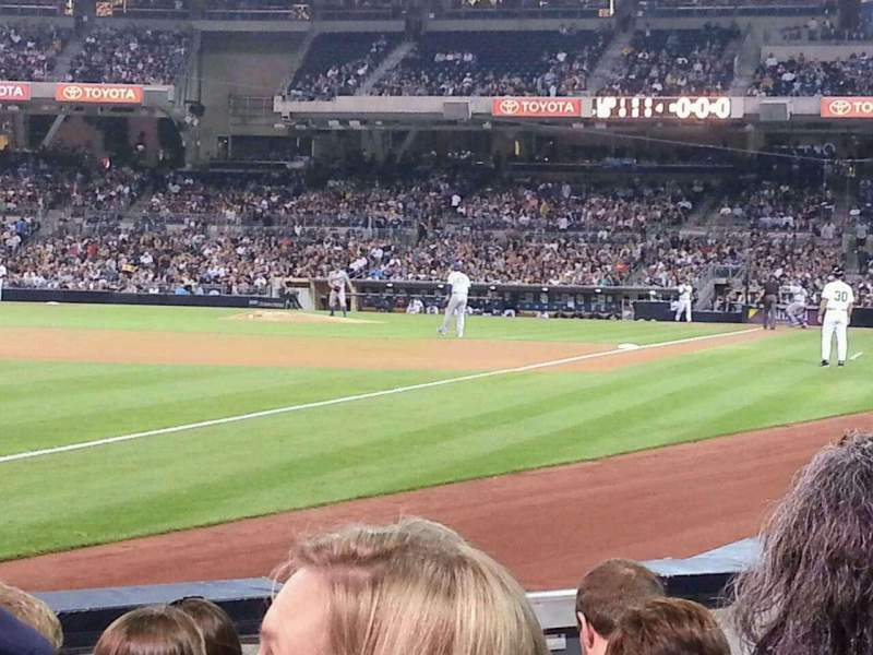 Seating view for PETCO Park Section 122 Row 7 Seat 7