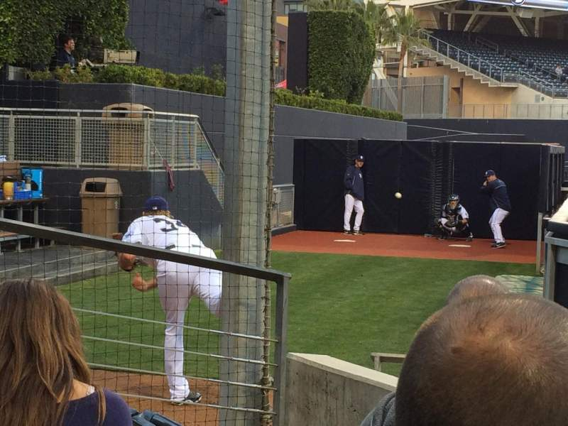 Seating view for Petco Park Section 134 Row 3 Seat 5