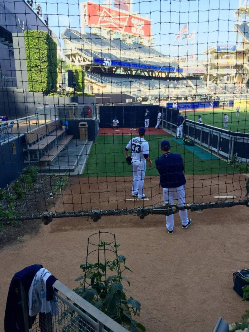 Seating view for PETCO Park Section 134 Row 9 Seat 12