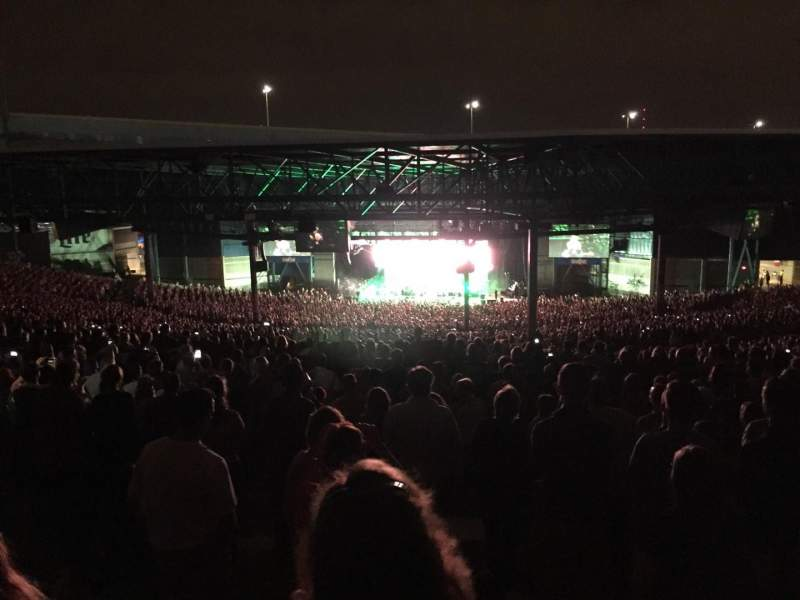 Seating view for American Family Insurance Amphitheater Section Lawn