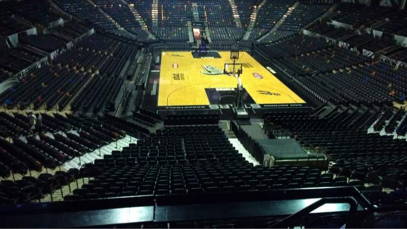Seating view for AT&T Center Section 101 Row 32 Seat 7