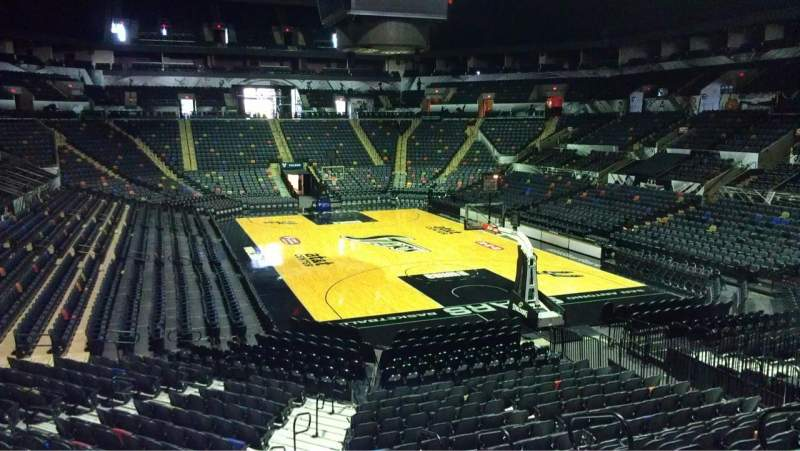 Seating view for AT&T Center Section 116 Row 26 Seat 4