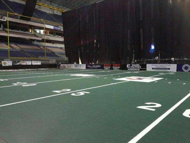 Seating view for Alamodome Section 142 Row 4 Seat 4