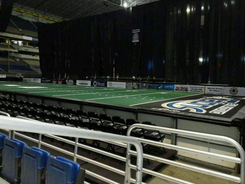 Seating view for Alamodome Section 142 Row 2 Seat 12