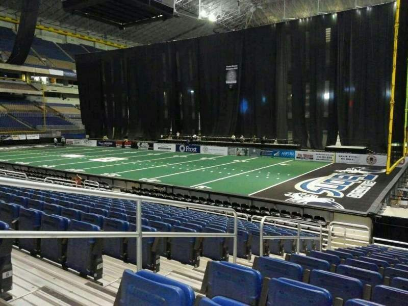 Seating view for Alamodome Section 142 Row 14 Seat 8