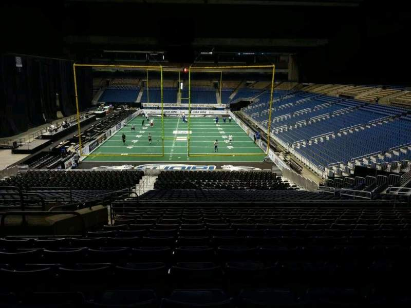 Seating view for Alamodome Section 109 Row 32 Seat 8