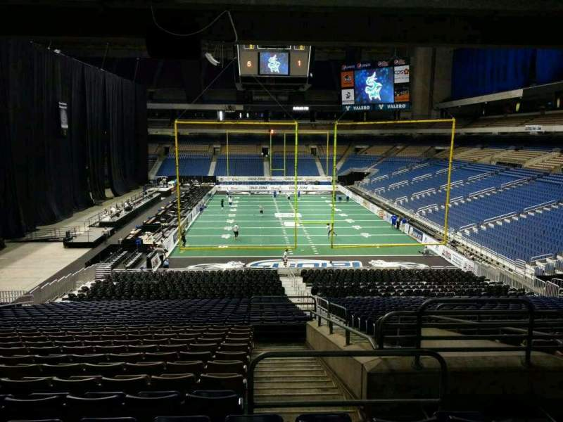 Seating view for Alamodome Section 109 Row 32 Seat 2