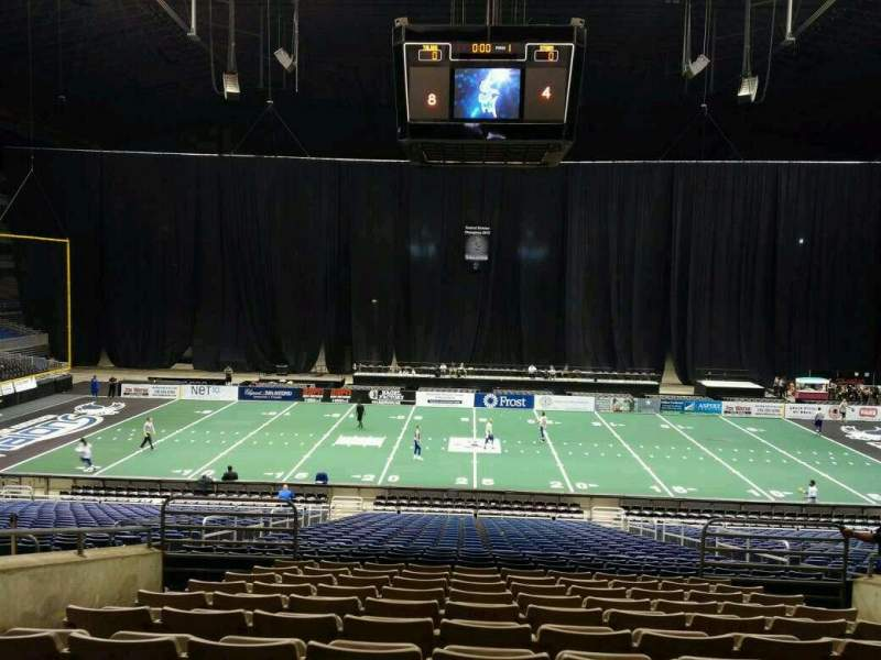 Seating view for Alamodome Section 101 Row 26 Seat 10