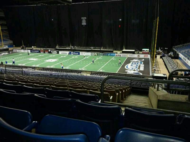 Seating view for Alamodome Section 141 Row 30 Seat 2