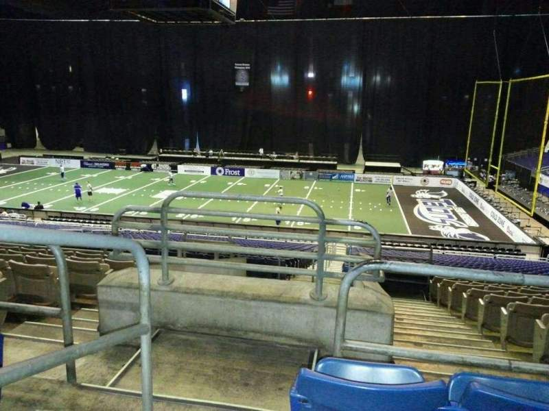 Seating view for Alamodome Section 143 Row 30 Seat 24