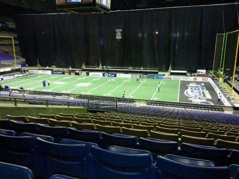 Seating view for Alamodome Section 143 Row 30 Seat 14