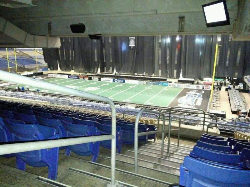 Seating view for Alamodome Section 143 Row 35 Seat 24