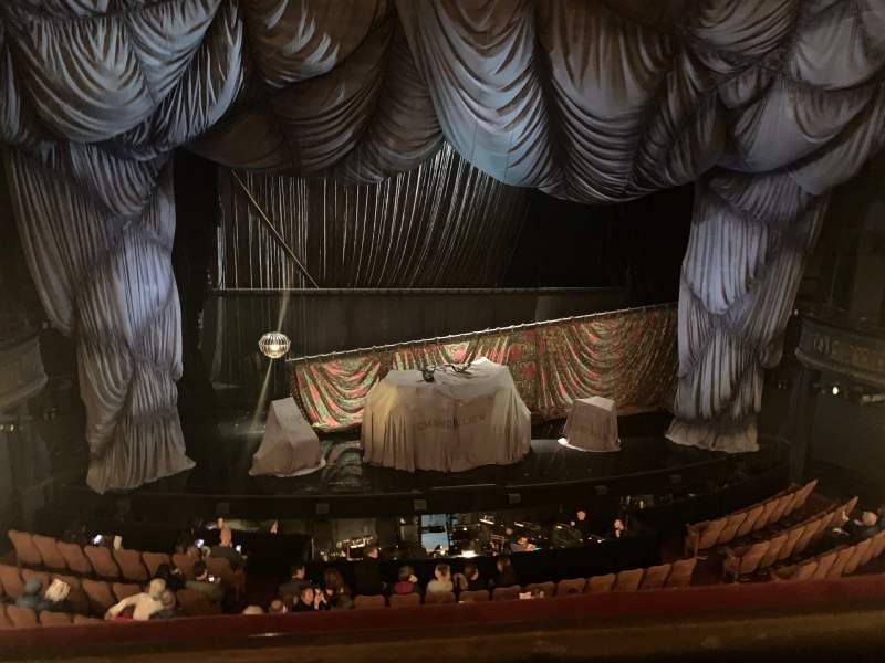 Seating view for Majestic Theatre Section Front Mezzanine C Row A Seat 101