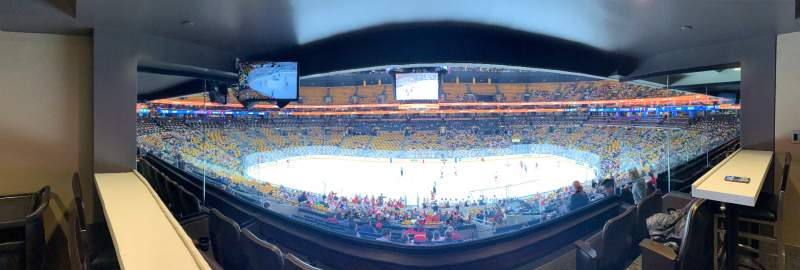 Seating view for TD Garden Section Suite 511