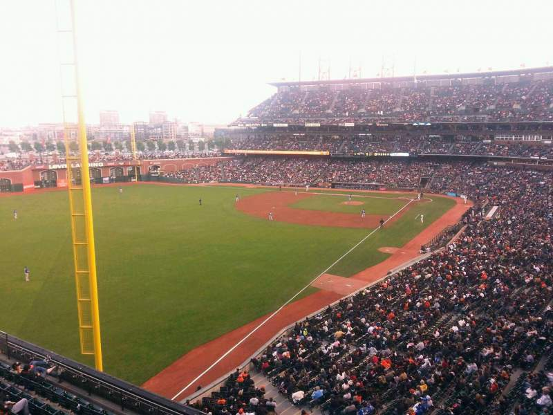 Seating view for AT&T Park Section Suite 64 Row A Seat 1
