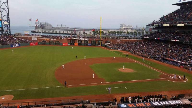 Seating view for Oracle Park Section Suite 45 Row A Seat 1