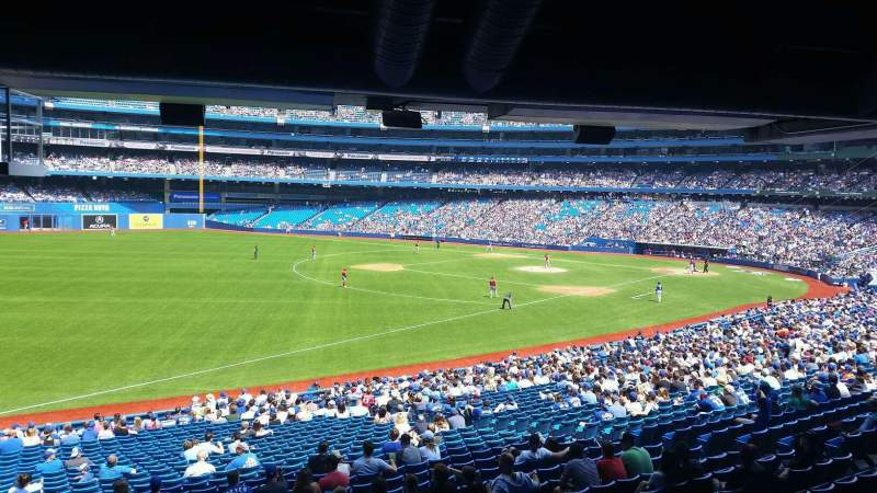Seating view for Rogers Centre Section 130C Row 30 Seat 7
