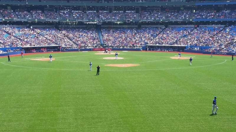 Seating view for Rogers Centre Section 101R Row 12 Seat 12