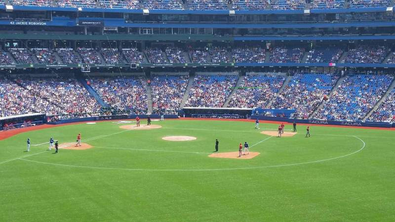 Seating view for Rogers Centre Section 205L Row 11 Seat 104