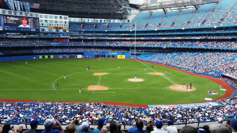 Seating view for Rogers Centre Section 229L Row 10 Seat 104