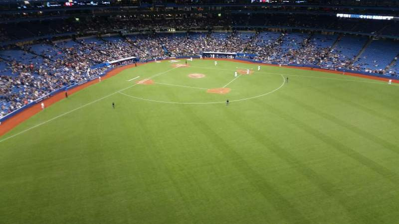 Seating view for Rogers Centre Section Toronto Marriott City Centre Row Room 170