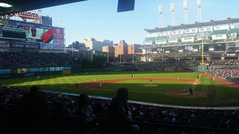 Seating view for Progressive Field Section 257 Row C Seat 9