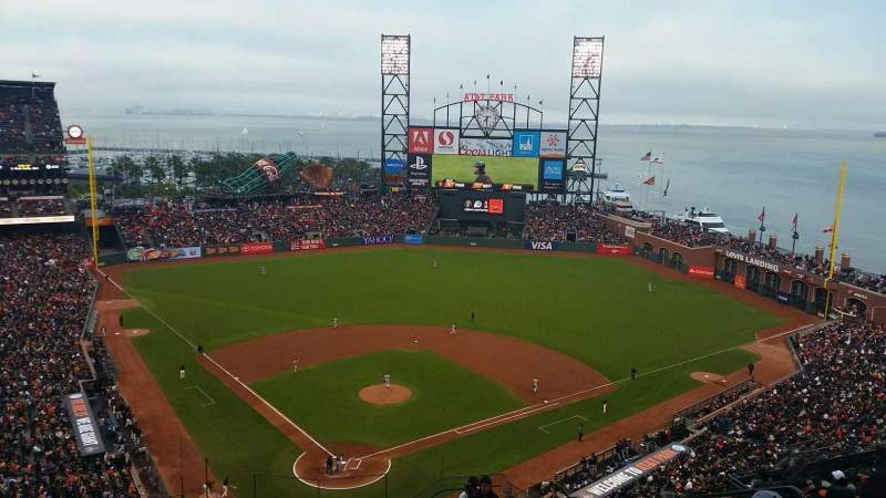 Seating view for AT&T Park Section 314 Row 14 Seat 6