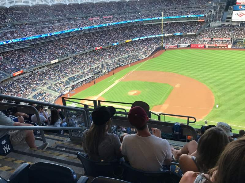 Seating view for Yankee Stadium Section 414 Row 9 Seat 24
