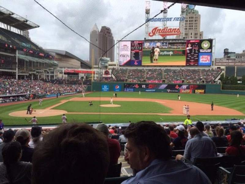 Seating view for Progressive Field Section 148 Row CC Seat 4