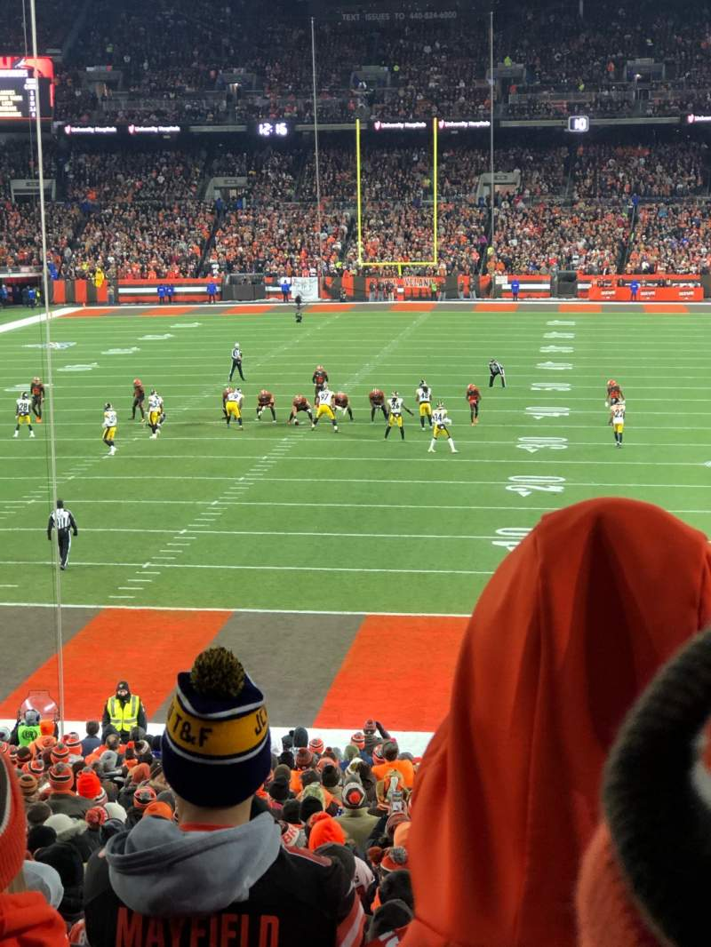 Firstenergy Stadium Section 121a Row 28 Seat 10