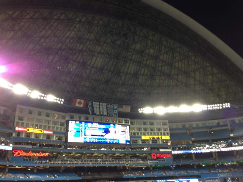 Seating view for Rogers Centre Section 128 Row 2 Seat 10