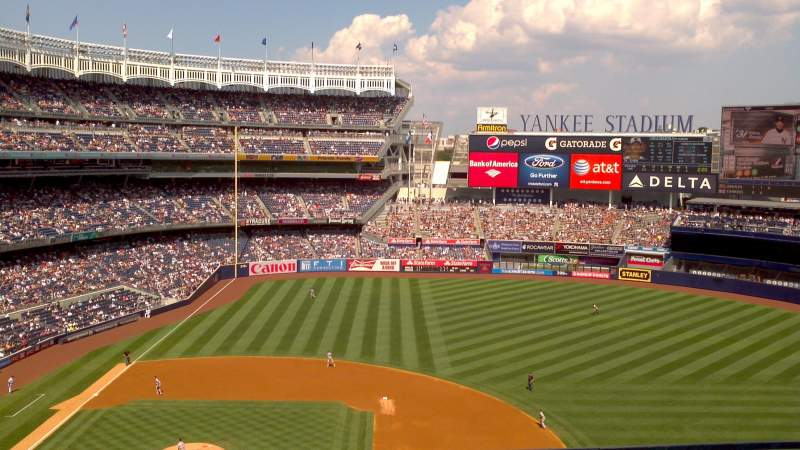 Seating view for Yankee Stadium Section 315 Row 2 Seat 14