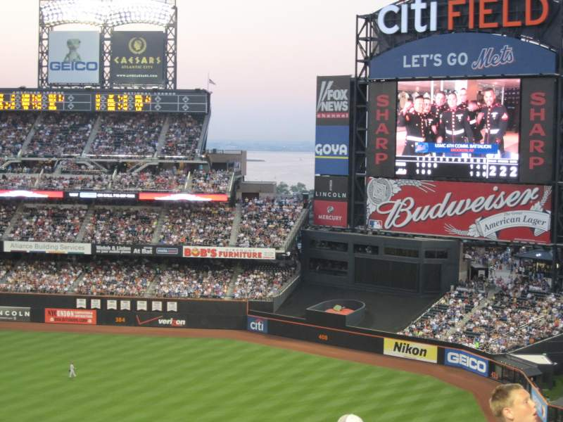 Seating view for Citi Field Section 504 Row 5 Seat 12